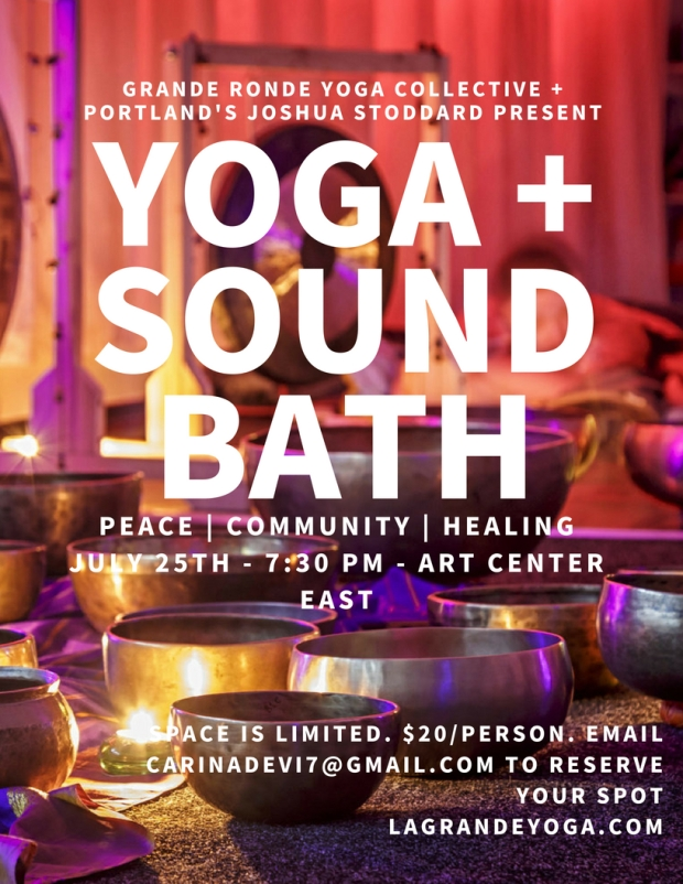 yoga + sound bath
