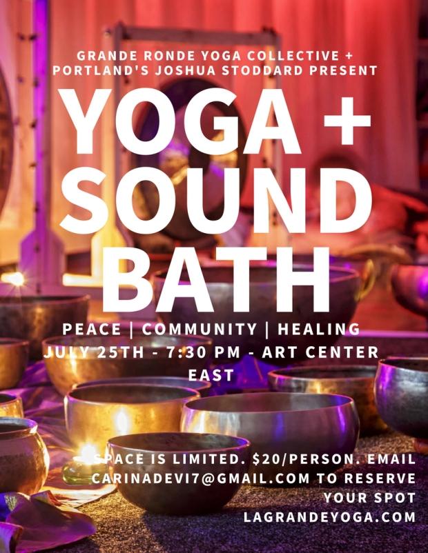 yoga + sound bath
